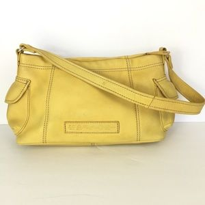 Fossil Soft Yellow Leather Purse
